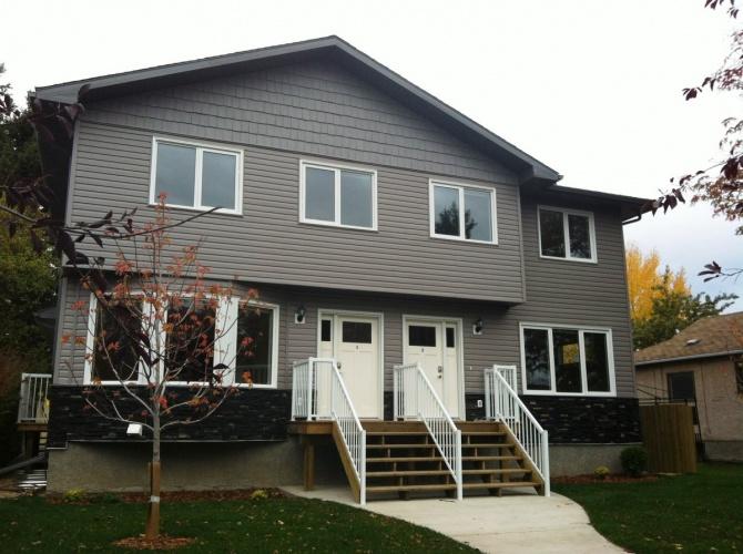 Triplex For Rent C 3414 51 Ave, Red Deer, 3 Bedrooms, 2.5 Bathrooms