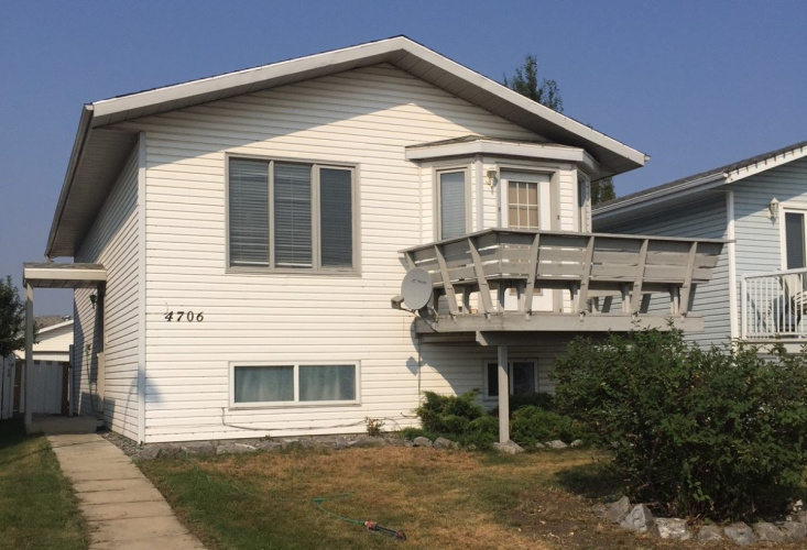 Upper For Rent Main - 4706 43 Street, Sylvan Lake, 3 Bedrooms, 1 Bathroom